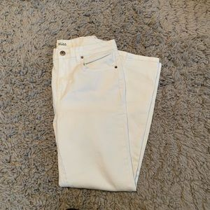 White high rise jeans from mudd